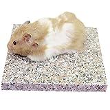 Emours Hamster Chiller, kühler Granitstein, Kleintierbedarf, 8,9 x 8,9 cm