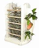 Elmato 12858 Futtertower für Heu und Karotten Futterraufe